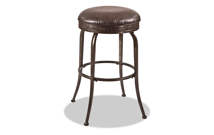 Walker Backless Swivel Counter Stool