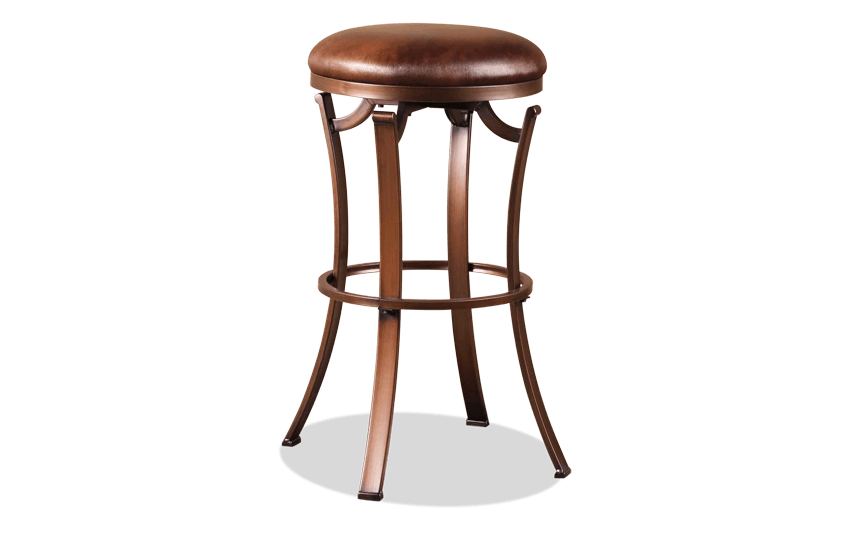 Kellwood Backless Swivel Stool