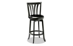 Devon Swivel Black Counter Stool