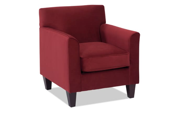 Clinton Berry Accent Chair