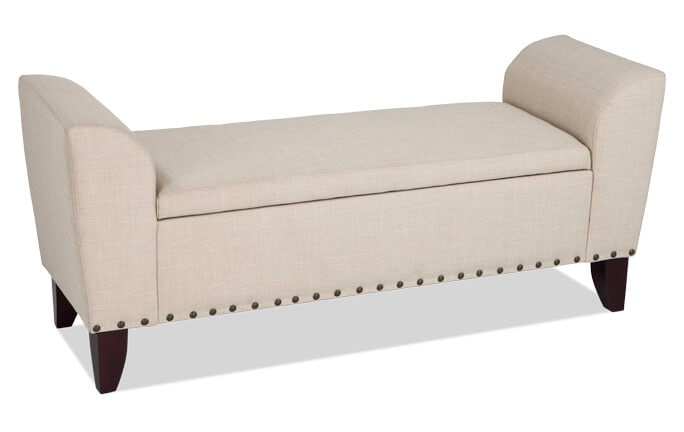 Hadleigh Buckwheat Storage Bench