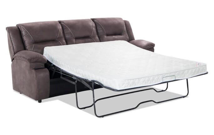 Jennings Gray Queen Sleeper With Innerspring Mattress