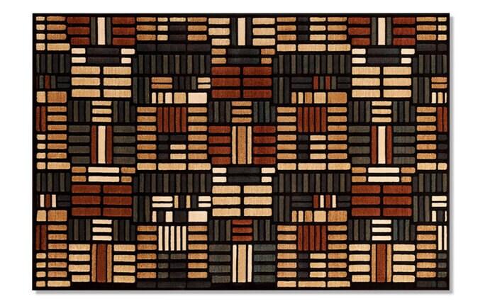 Four Square Multi Rug (7'10