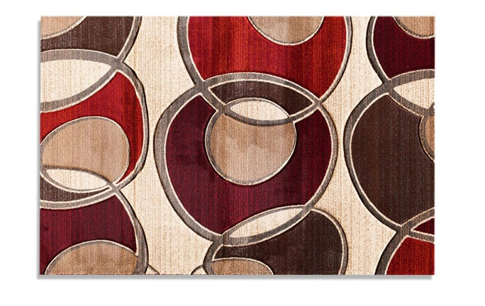 Jetson Jam Red Rug (5' x 7'6