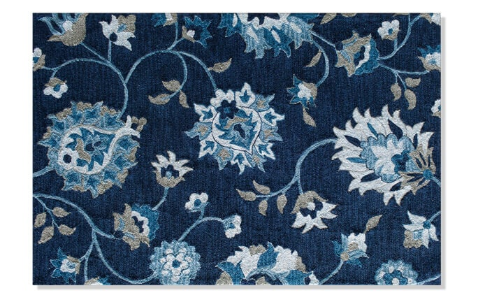 Orchid Blue Rug (5' x 7')