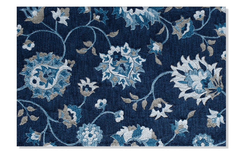 Orchid Blue Rug 5' x 7'