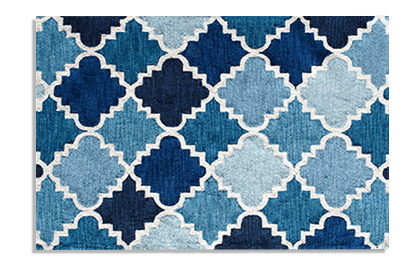 Blue Lagoon Rug (5' x 7')