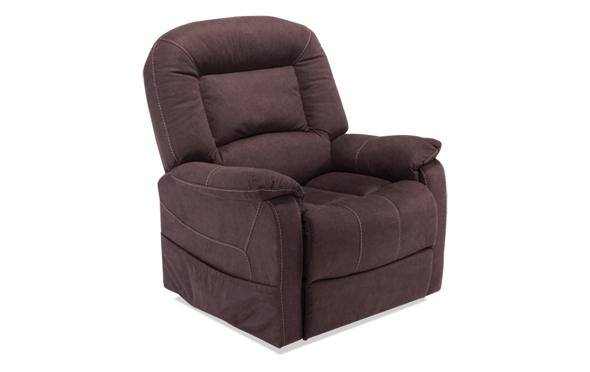 Ranger Brown Power Lift Recliner Bobs Com