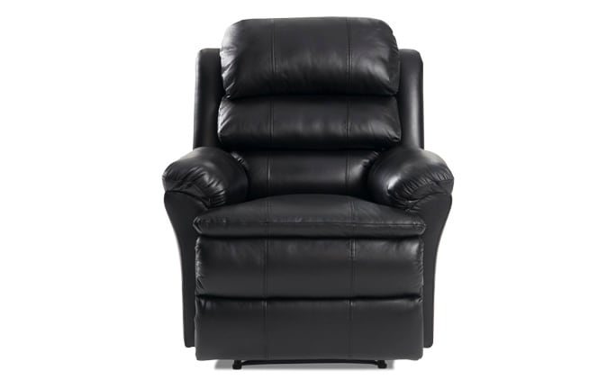 Bob-O-Pedic Leather Power Recliner