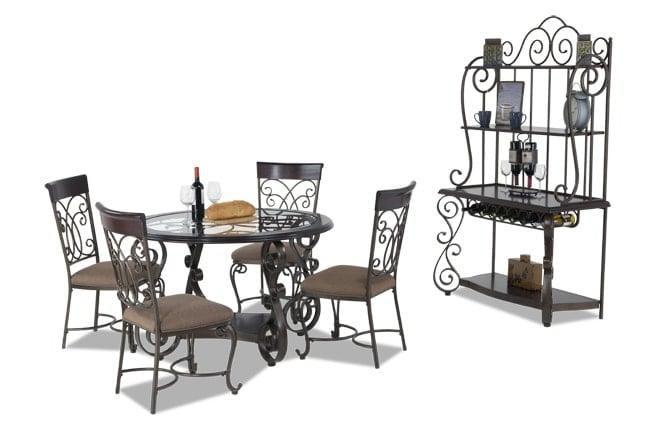 Bombay 6 Piece Dining Set | Bob\'s Discount Furniture