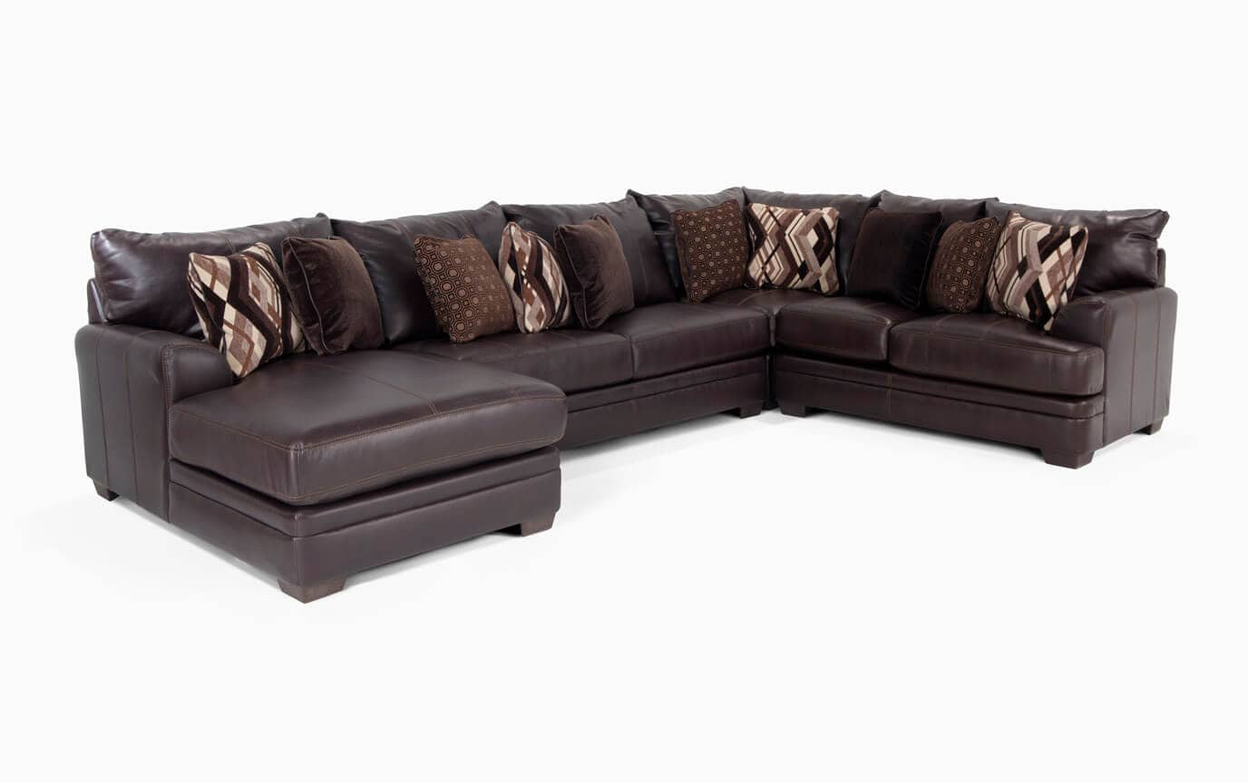 Ritz 4 Piece Right Arm Facing Sectional