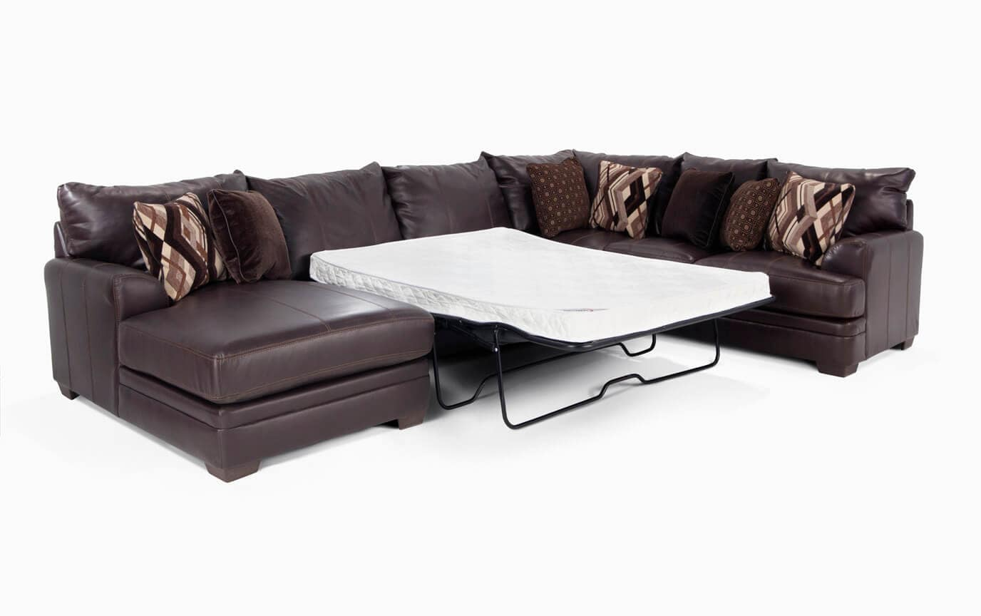 Ritz 4 Piece Right Arm Facing Innerspring Queen Sectional