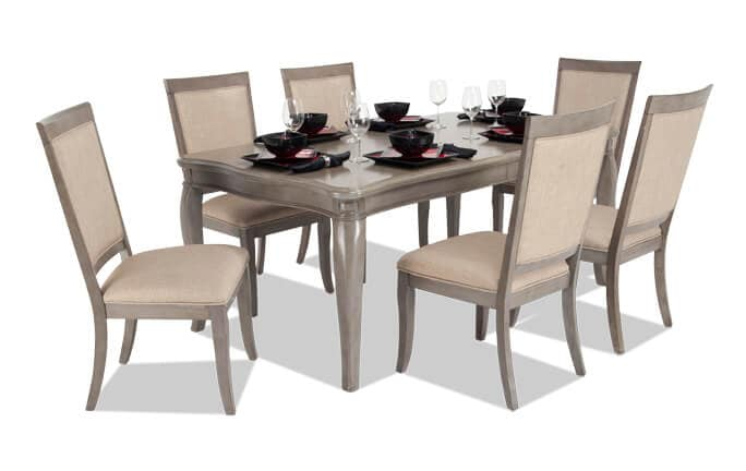 Gatsby 7 Piece Dining Set With Side Chairs