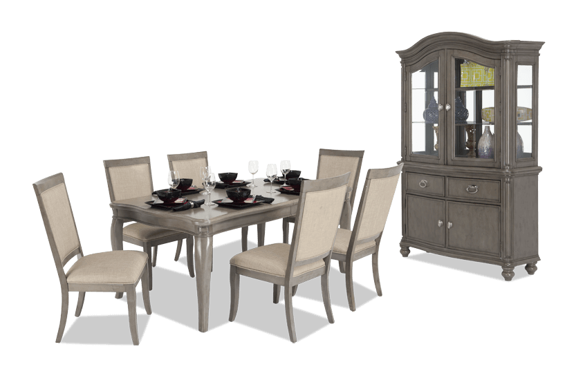 Gatsby 9 Piece Dining Set with China
