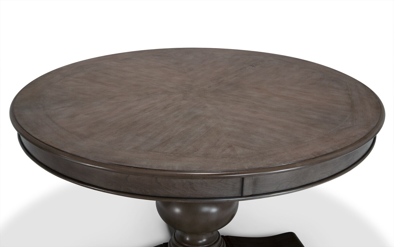 Gatsby Gray Round Dining Table