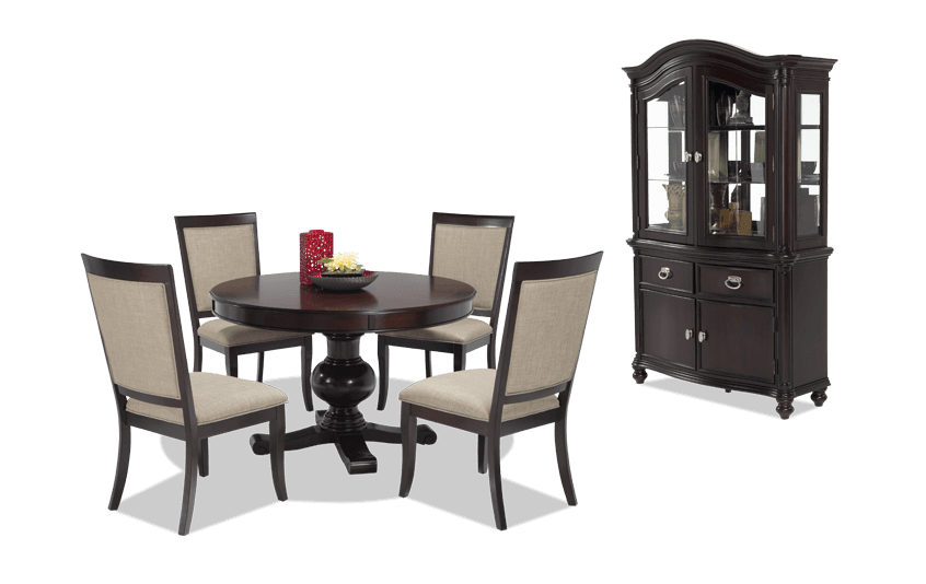 Gatsby Round 7 Piece Dining Set with Side Chairs