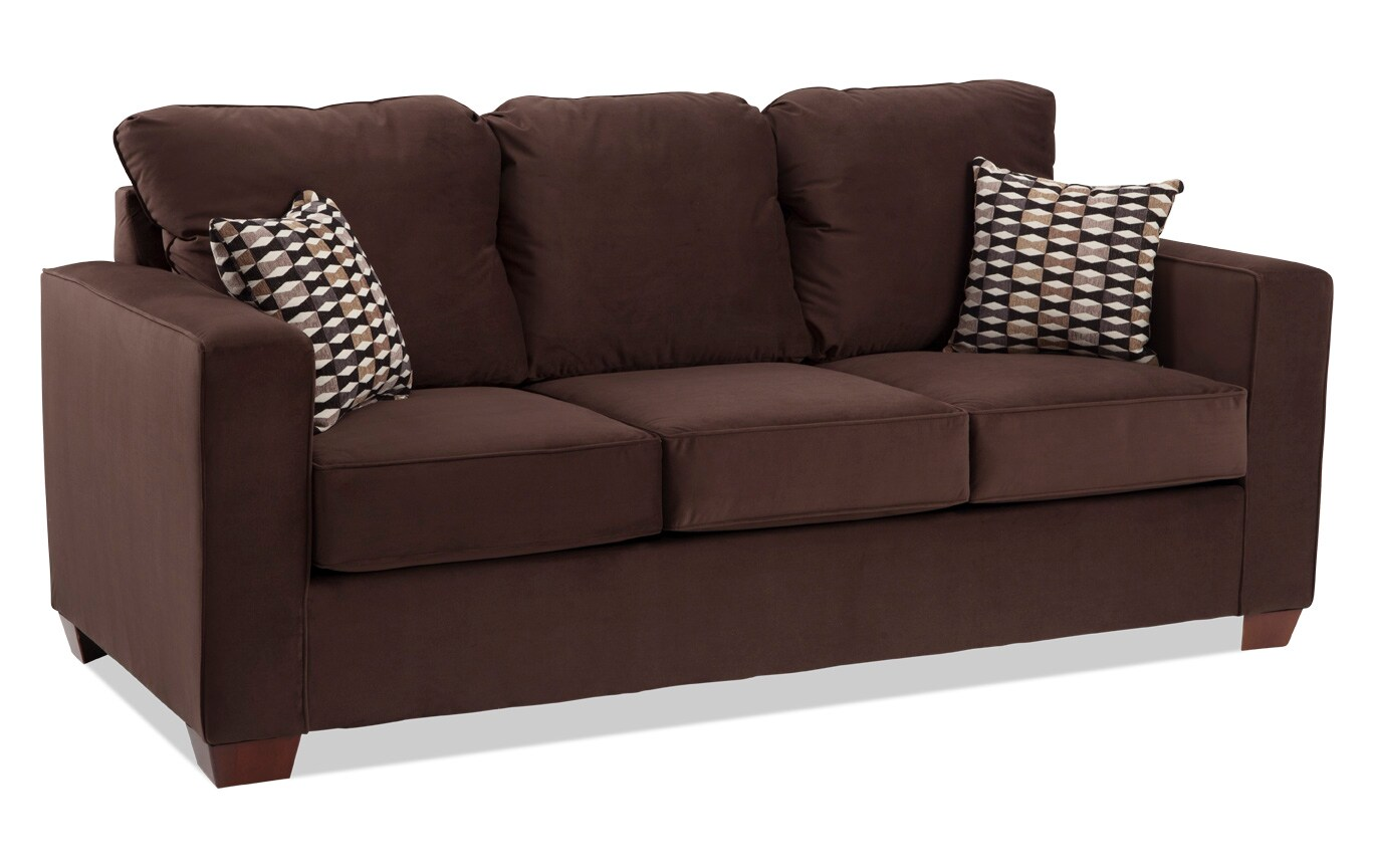 Aubree Chocolate Sofa
