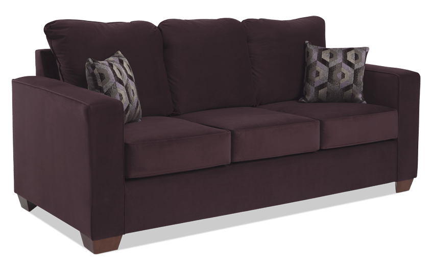 Aubree Plum Sofa