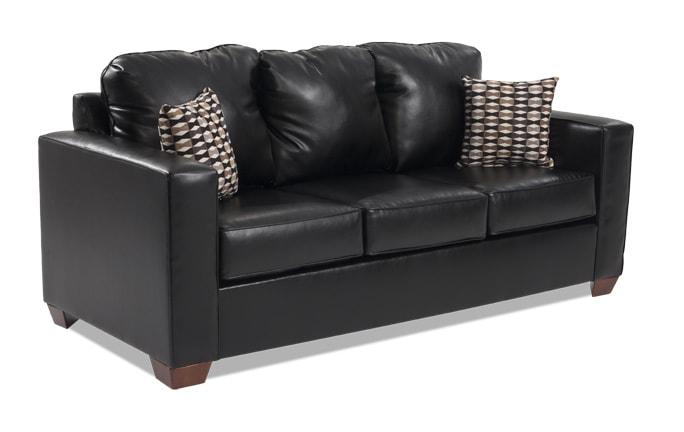 Eric Black Sofa