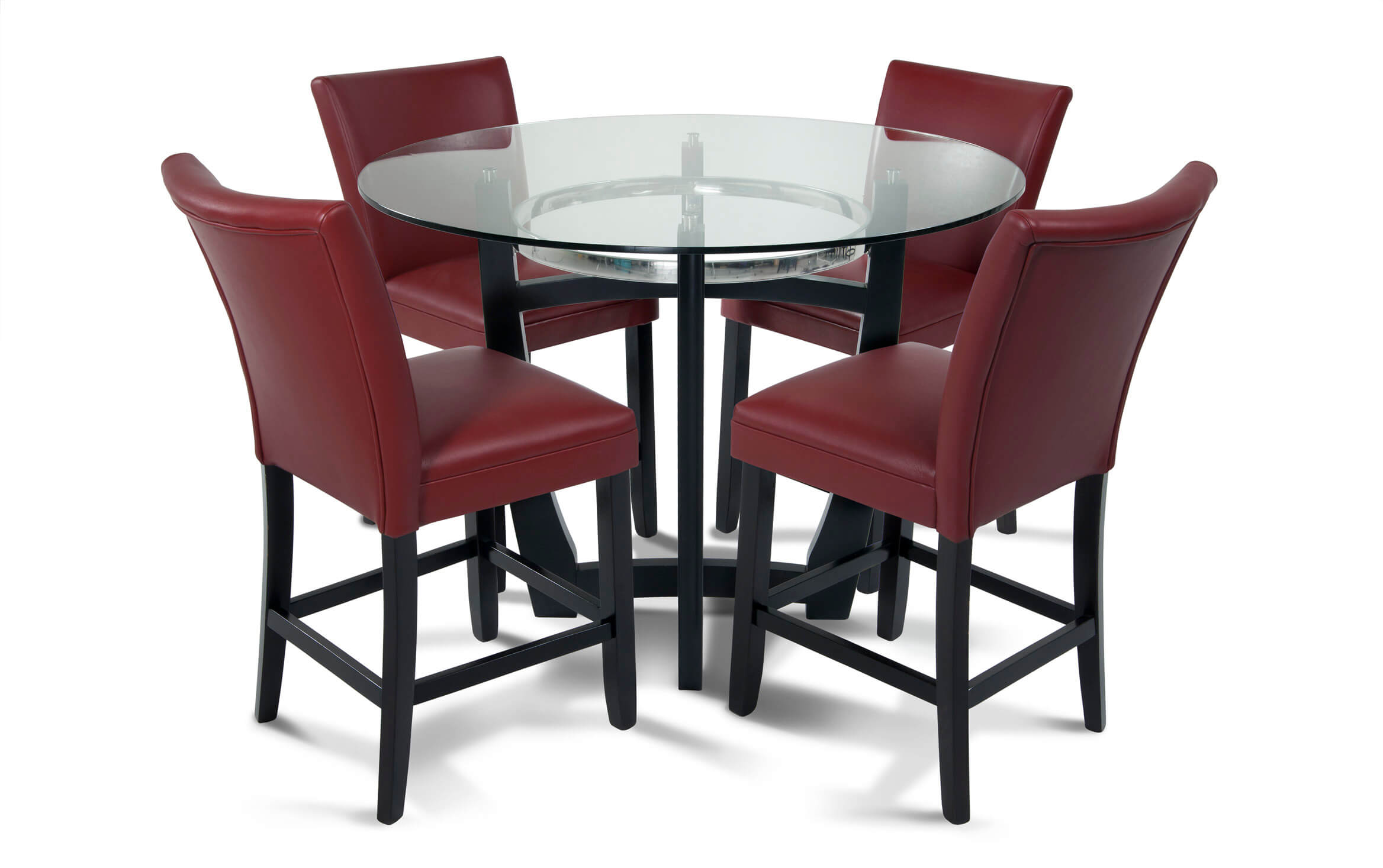 Matinee Red 5 Piece Counter Set