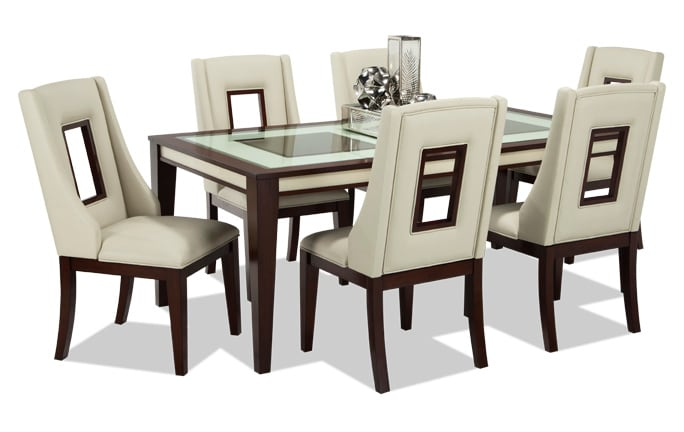 dining room table set. Kenzo 7 Piece Dining Set Room Sets  Bob S Discount Furniture