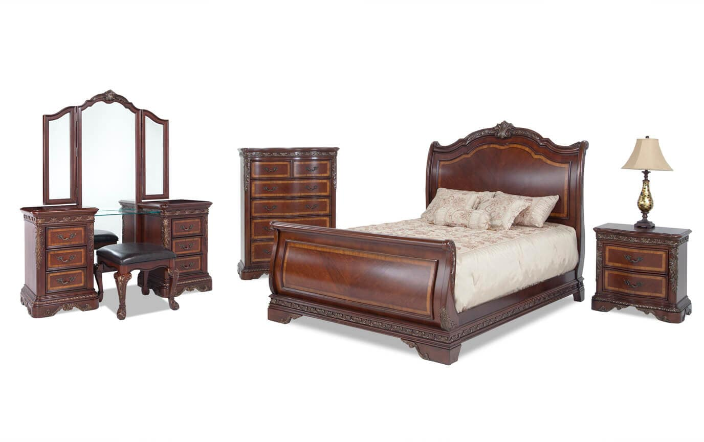 Majestic Queen Bedroom Set Bobs Com