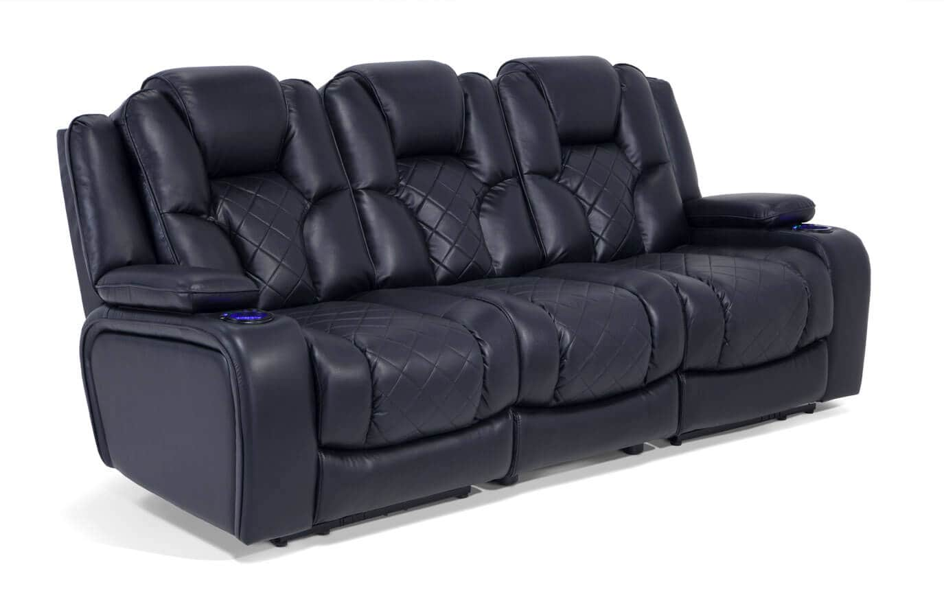 Gladiator Dual Power Reclining Sofa Outlet Bobs Com
