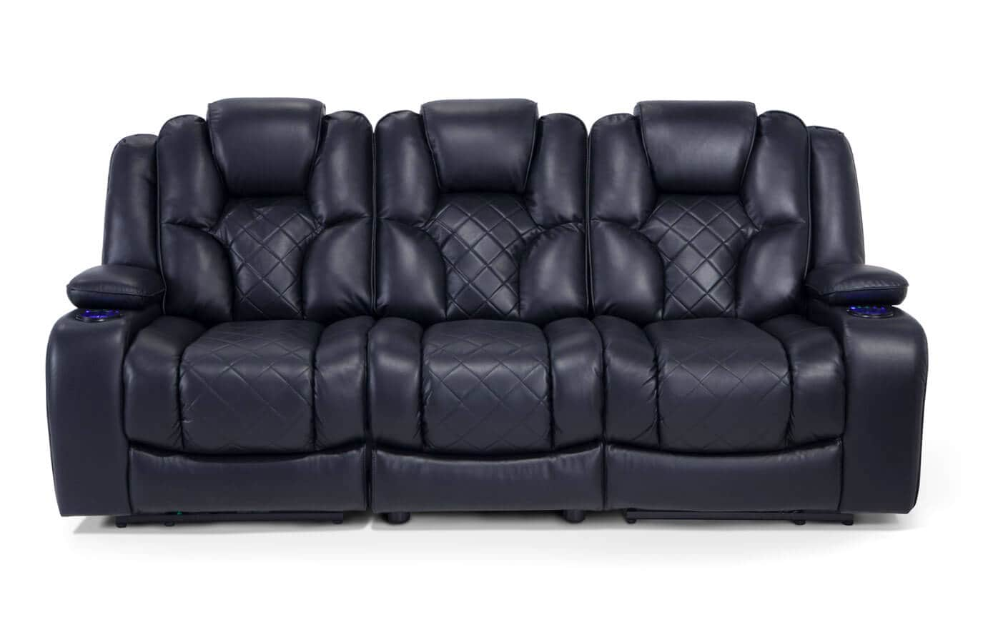 Gladiator Power Dual Reclining Sofa and Console Loveseat