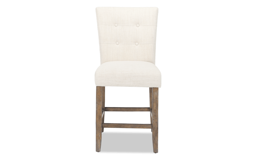 Montibello White Counter Stool