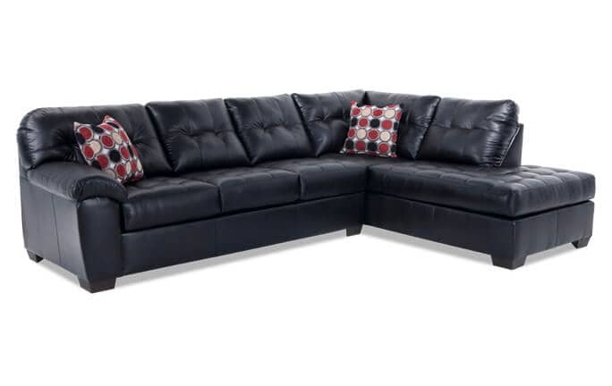 Mercury 2 Piece Left Arm Facing Sectional