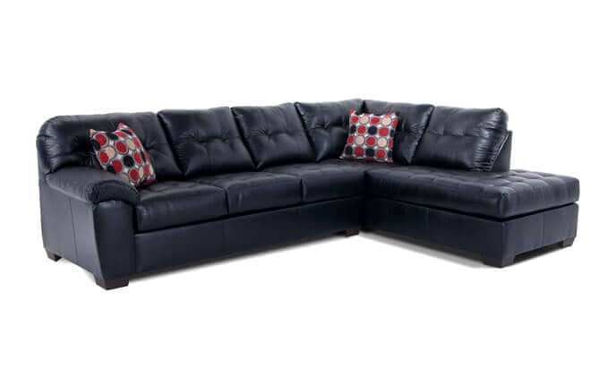 Mercury Left Arm Facing Bob O Pedic Gel Queen Sleeper Sectional
