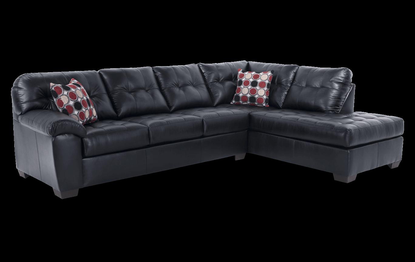 Astounding Mercury Black 2 Piece Left Arm Facing Sectional Inzonedesignstudio Interior Chair Design Inzonedesignstudiocom