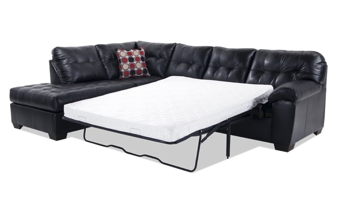 Mercury Right Arm Facing Innerspring Queen Sleeper Sectional