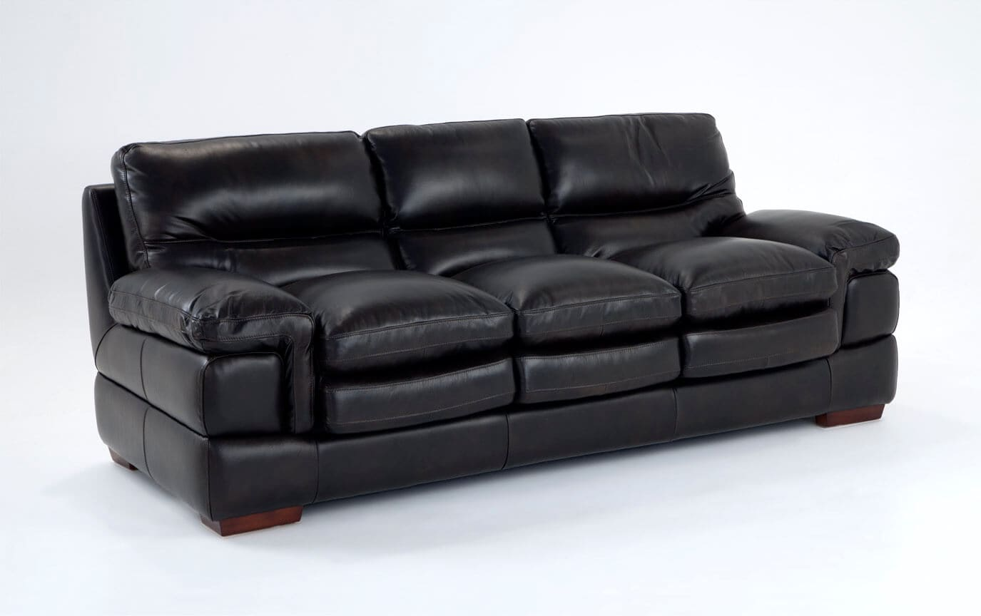 Carter Leather Sofa | Bobs.com