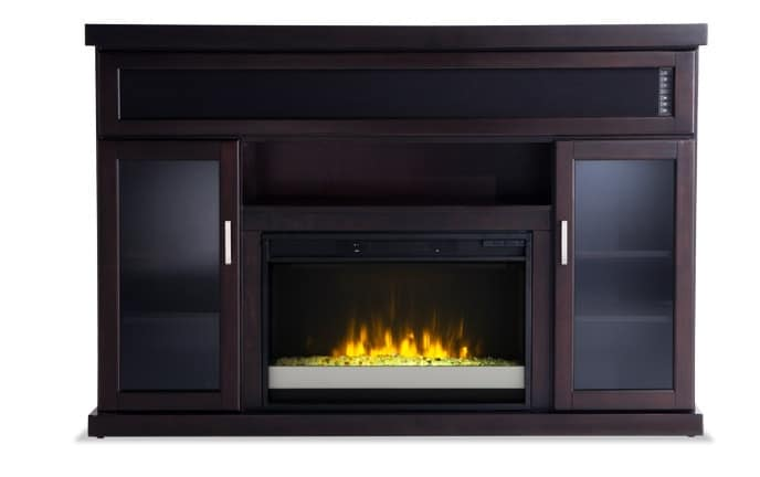 electric bob bobs fireplace brown fireplaces s furniture discount merwin alison gel pin entertainment