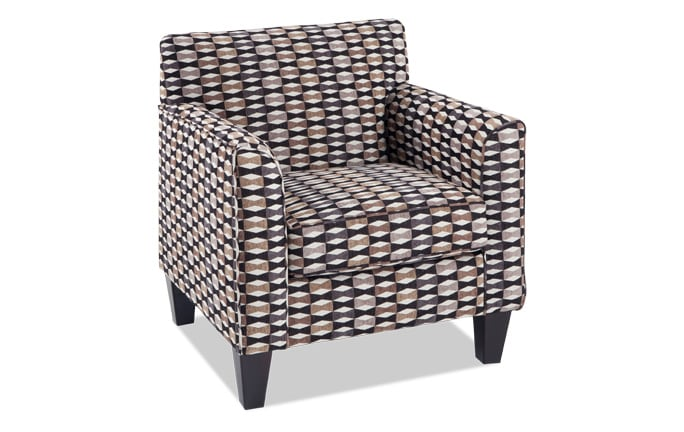 Clinton Ebony Accent Chair