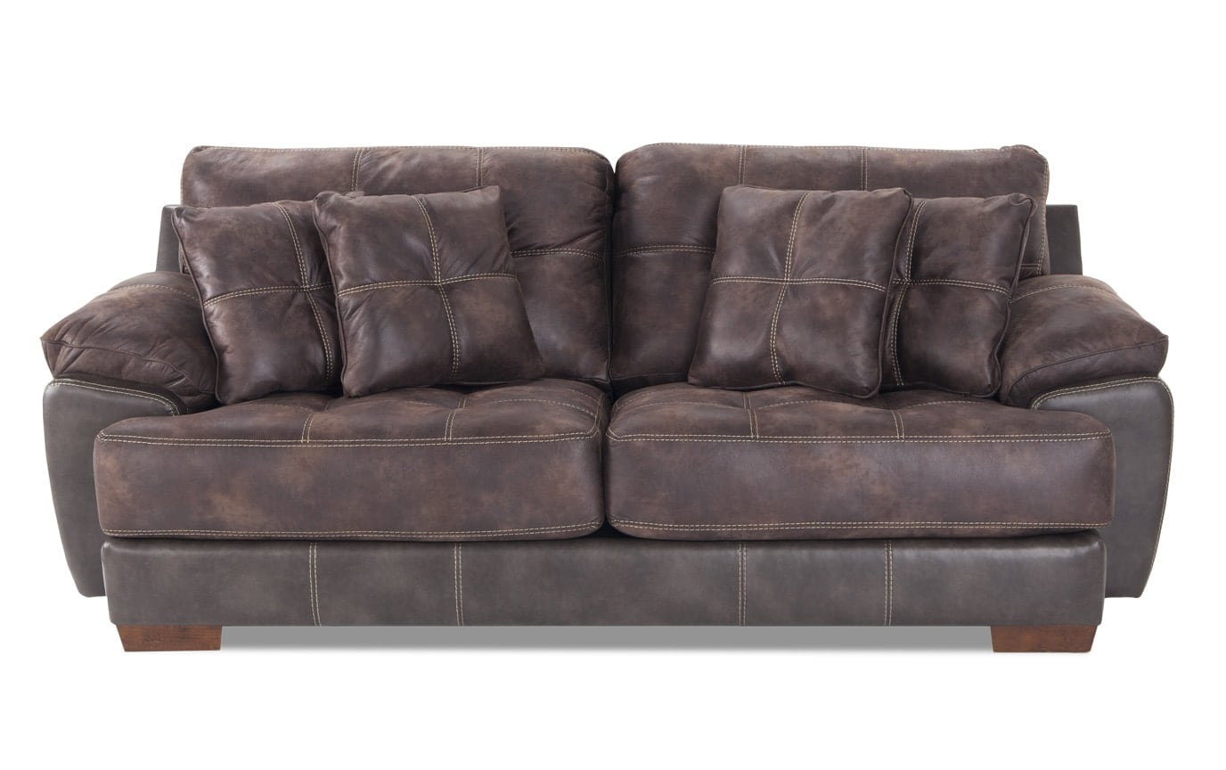 Bobs Sofa Greyson Sofa Living Room Makeover In 2019