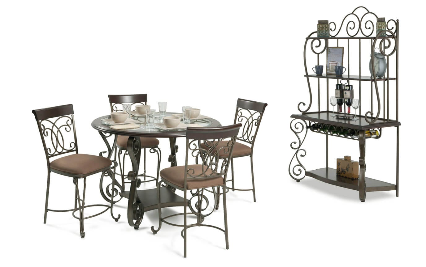 Bombay Counter 6 Piece Dining Set