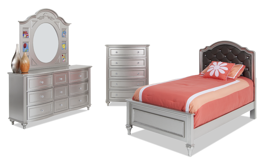 Madelyn Upholstered Bedroom Set