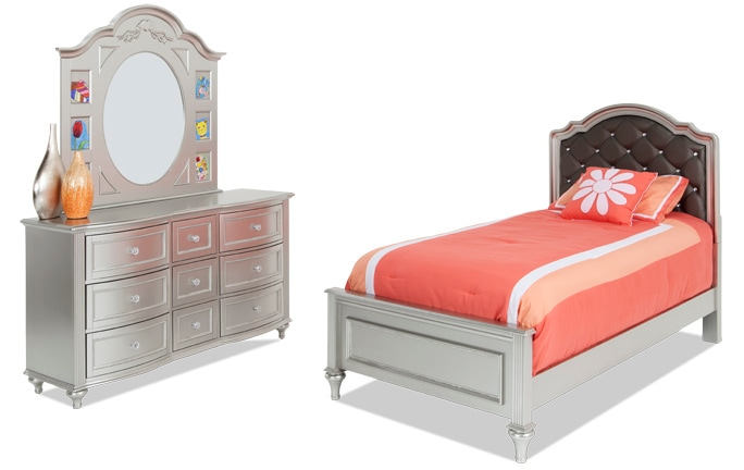 Madelyn Upholstered Youth Bedroom Set