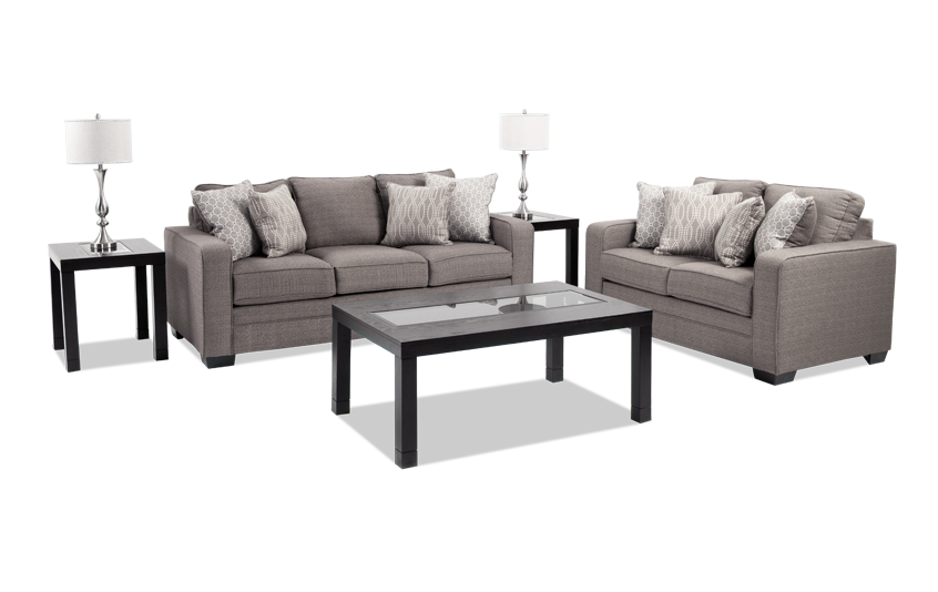 Greyson Seven Piece Living Room Set