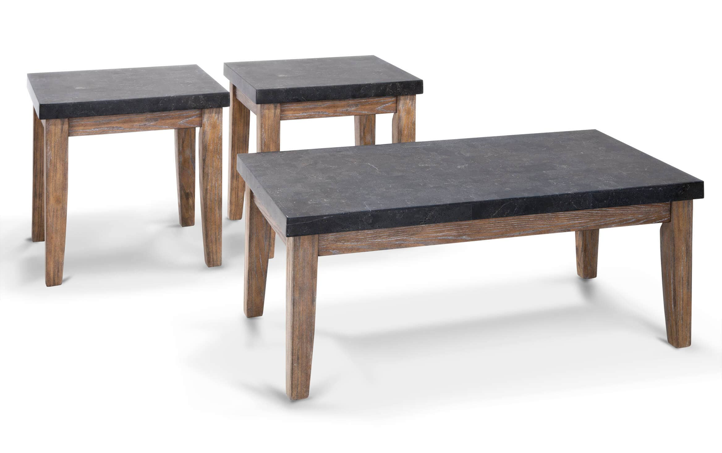 Montibello Bluestone Marble Coffee Table Set Bobs Com