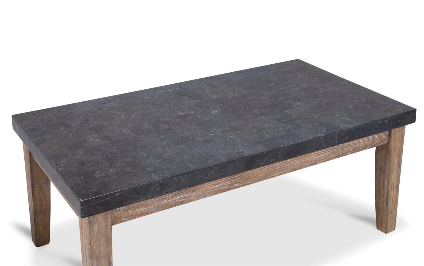 Montibello Bluestone Marble Coffee Table Set
