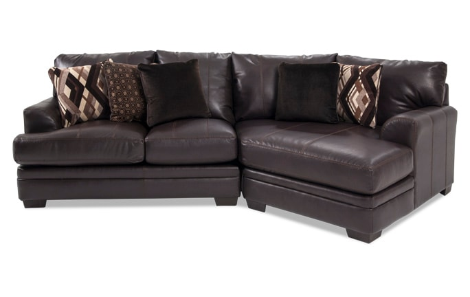 Ritz 2 Piece Left Arm Facing Sectional with Cuddler Chaise