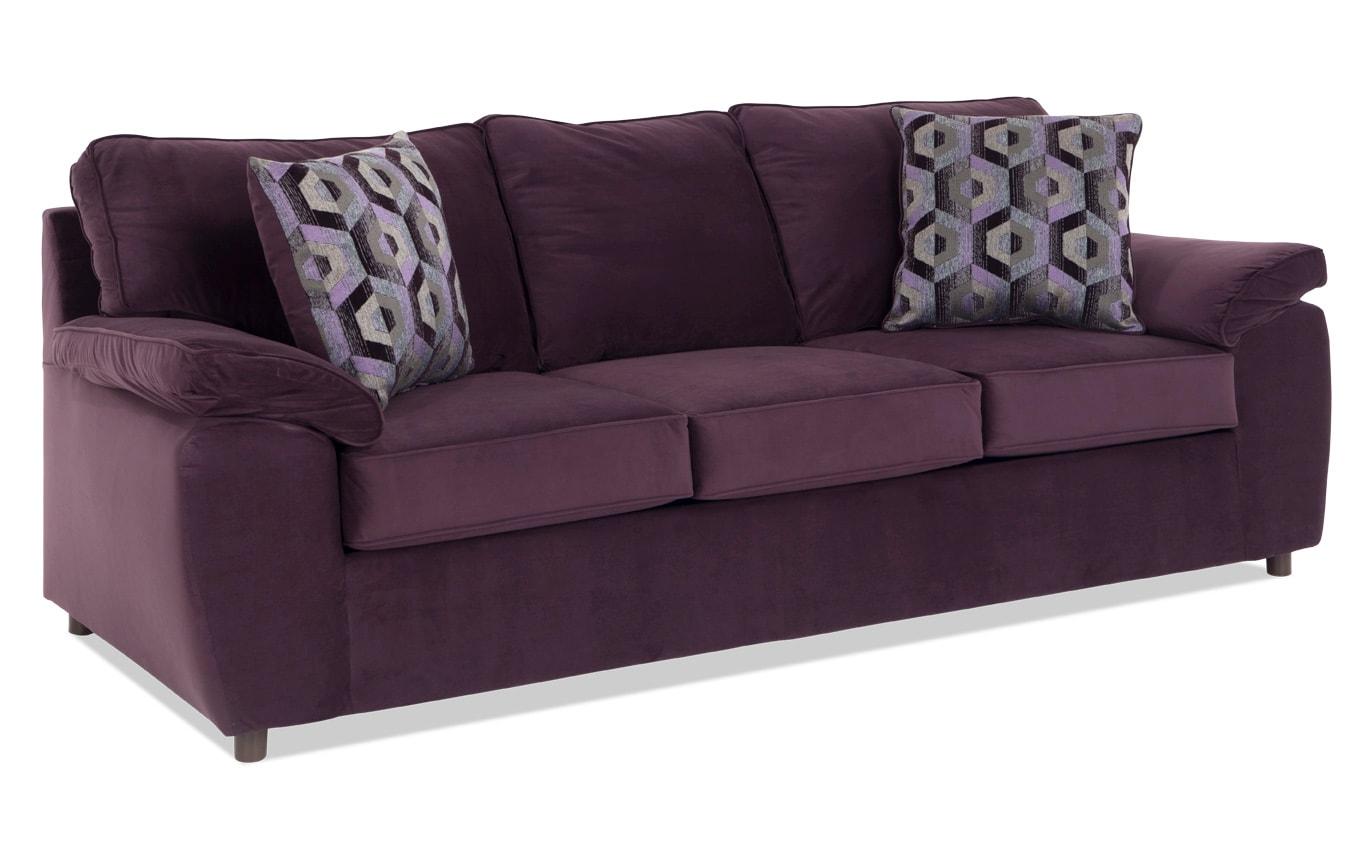 Tristan Plum Sofa