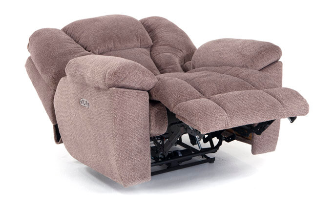 Falcon Power Recliner With Power Headrest