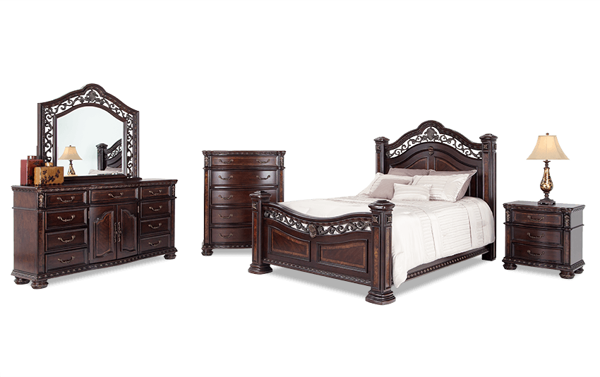 Grand Manor Bedroom Set