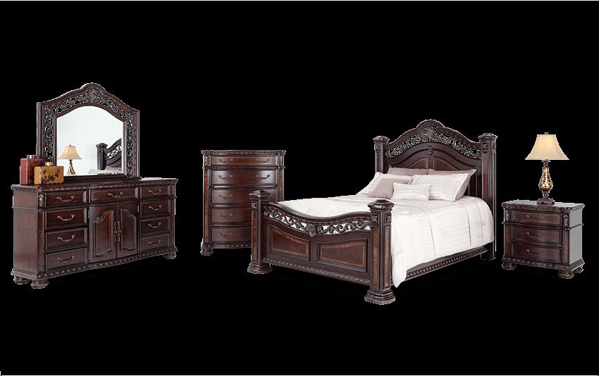 Grand Manor Queen Bedroom Set Bobs Com