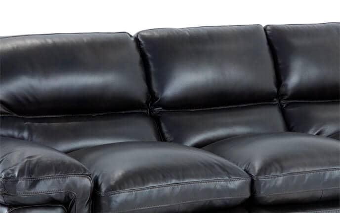 Carter Leather Sofa, Chair U0026 Ottoman