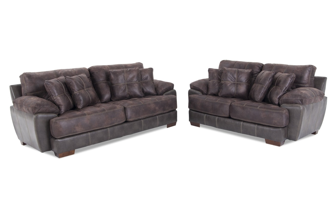 deco living room chair collections black bl pc includes products ch sofa set loveseat rsc